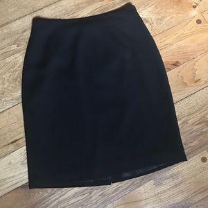 Laura Scott Black Pencil Skirt